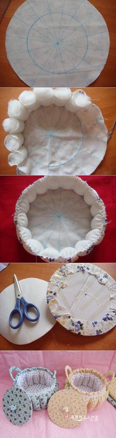 Best Ideas For Basket Diy Bread - Korb und Kiste Baby Sewing Projects, Sewing Hacks, Sewing Crafts, Diy Home Crafts, Diy Crafts To Sell, Sewing Techniques, Baby Quilts, Handicraft, Fabric Crafts