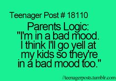 Not true with my parents. But I gotta admit I know what it's talking about. =)