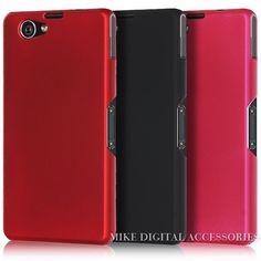 Nieuwe hoge kwaliteit multi kleuren luxe rubberen matte hard plastic telefoon case cover voor sony xperia z1 mini compact d5503