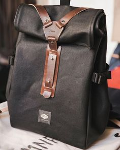 """136 Likes, 7 Comments - H A V I E (@havie.mnfct) on Instagram: """"New Havie Rolltop backpack. Available at the store. Come by. Poria x Tirza street. Cheers! #havie…"""""""