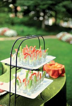 Summer hors d'oeuvres. Photo by Kate Headley.