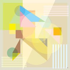 Abstract Shapes 7 Fine Art Print