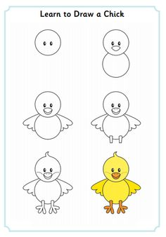 Learn to Draw a Chick  http://www.activityvillage.co.uk/learn_to_draw_animals.htm