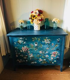 Furniture is the best addition to the beauty of your house. The design and coloring or the decoration of the house is nothing without these wooden structures… Decoupage Furniture, Hand Painted Furniture, Funky Furniture, Paint Furniture, Upcycled Furniture, Furniture Projects, Furniture Makeover, Furniture Decor, Furniture Design