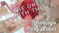The One with the DIY Flamingo Craft