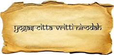 yoga chitta vritti nirodha sutra - Buscar con Google