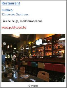Restaurant Publico - 32 rue des Chartreux - Pentagone