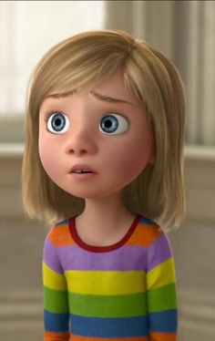Inside out Riley Inside Out Riley, Movie Inside Out, Disney Inside Out, Disney And More, Inside Out Emotions, Inside Out Characters, Cartoon Characters, Disney Cartoons, Disney Pixar