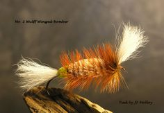 Wulff Winged Bomber Dry Fly #spey