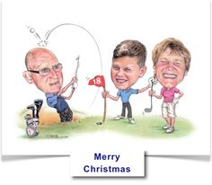 A3 Group Caricature