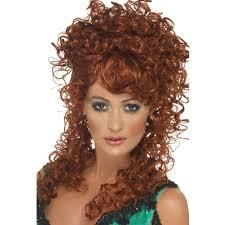 Let's Party With Balloons - Auburn Saloon Girl Wig, $20.00 (http://www.letspartywithballoons.com.au/auburn-saloon-girl-wig/)