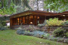 Ray Brandes home. Sammamish, Washington. 1952. Usonian Style. Frank Lloyd Wright. Photos by Paul Michael Davis, Architect www.paulmichaeldavis.com