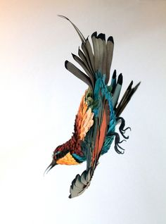Magazine - Update: Paper Bird Sculptures by Diana Beltran Herrera