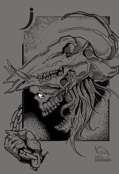Skull. Cards. Sketch. Tattoo. Graphic. Draw. Ink. Dotwork. Череп. Art. Queen. Дама. LevK. Black. Evil. Jack. Валет. Карты