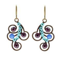 Tutorial - How to: Peacock Flair Earrings | Beadaholique