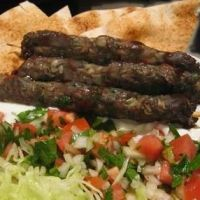 Kafta Kebab Recipe .. I made this the other week and it was so good! Instead of just 1lb of beef, I did a half lb of lamb and beef mixed together - even better! I also wouldn't only do a little over 1/4th cup of parsley.