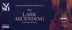 NZSOs The Lark AscendingAK May 24th