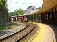 Old rail depot, Staunton, Virginia (Amtrack still stops here).