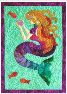 Quilt Pattern - Mermaid Tails