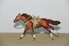 Lime Green Stablemate Scale Gaming Set - model horse tack