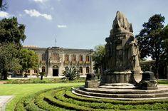 Jardín de pérgolas, Museo del Castillo de Chapultepec, Ciudad de México.