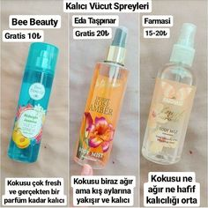 Body sprays I like to use. Look at the ready gratist with a discount . Beauty Care, Diy Beauty, Beauty Skin, Beauty Hacks, Face Skin, Face And Body, Bath Body Works, Face Care, Skin Care