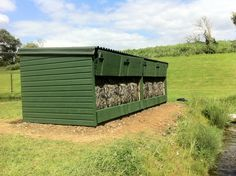 The hide is sunken into the ground, providing superb views for up to 4 people
