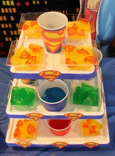 Superhero Birthday Party Food Ideas