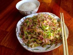 Wok, Guacamole, Side Dishes, Cabbage, Meals, Vegetables, Cooking, Ethnic Recipes, Cook Books