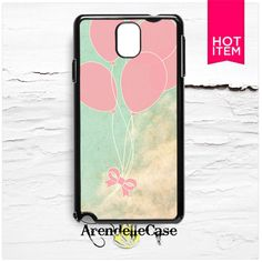 Retro Balloon Cloud Painting Samsung Galaxy Note 3 Case