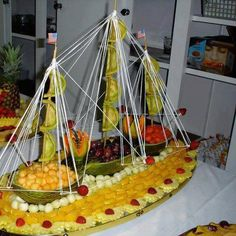 voilier de fruits