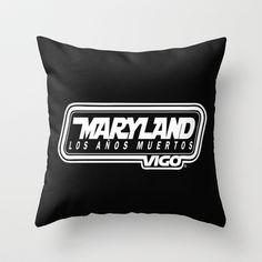 MarylandVigo Maryland - Los Años Muertos Throw Pillow Maryland, Throw Pillows, Group, Music, Musica, Toss Pillows, Musik, Cushions, Decorative Pillows
