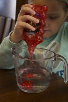Make Glitter Slime with Glue