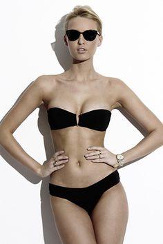 Basic Training: 10 black bikinis to live in all summer