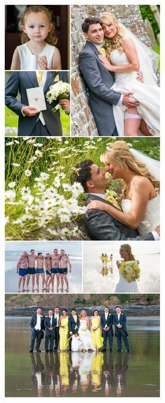 Michael Wells Photography: Louise & Ryan's Wedding at The Saunton Sands Hotel...