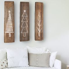 Christmas Tree Set of 3 Stencils for Wood Signs christmas clapback, christmas decor diy ideas xmas, christmas festive Christmas Tree Stencil, Christmas Tree Set, Christmas Is Over, Christmas Wood, Christmas Signs, Christmas Projects, Christmas Holidays, Primitive Christmas Tree, Christmas Tables