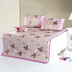 Mickey Mouse Pink Disney Summer Sleeping Mat Set Mickey Mouse Bedroom, Disney Bedding, Bedding Sets, Sleep, Summer, Pink, Furniture, Home Decor, Summer Time