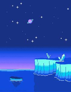 Dreamy pixelscapes & side-scroller nostalgia