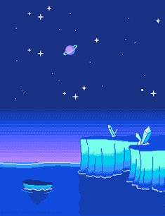 Dreamy pixelscapes & side-scroller nostalgia