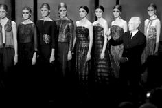 The finale of Armani Privé Spring/Summer 2014