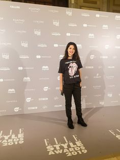 Punk outfit for ELLE Style Awards 2019. Elle Style Awards, Punk Outfits, Lancome, Loreal, Sephora, My Style, Movies, Movie Posters, 2016 Movies