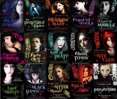 The Morganville Vampires by Rachel Caine: my absolute favorite vampire series, mostly because it has a lot of sci-fi aspects to it and doesn't focus on romance overly much.