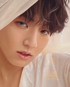 Fan Art, Jungkook Fanart, Art