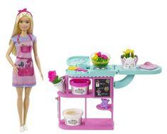 Mattel Barbie, Barbie Dolls, Barbie Sets, Barbie Fashionista, Making A Bouquet, Flower Making, Gifts For Kids, Great Gifts, Accessoires Barbie