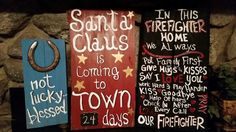 Pallet signs hand painted by Wendy, Speaks Creations