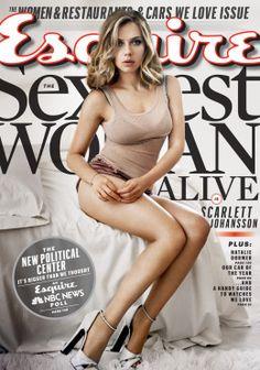 Scarlett Johansson is Esquire's sexiest woman alive. Again.