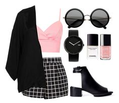 """""""Untitled #86"""" by v4ndaleyes ❤ liked on Polyvore featuring Topshop, Dries Van Noten, Zara, The Row, Alessi and Chanel"""