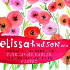 print & pattern: SURTEX 2011 - pink light design