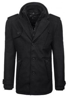 Kabát J.STYLE 3070 čierny