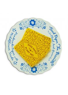 Seed Paper Tea Biscuits